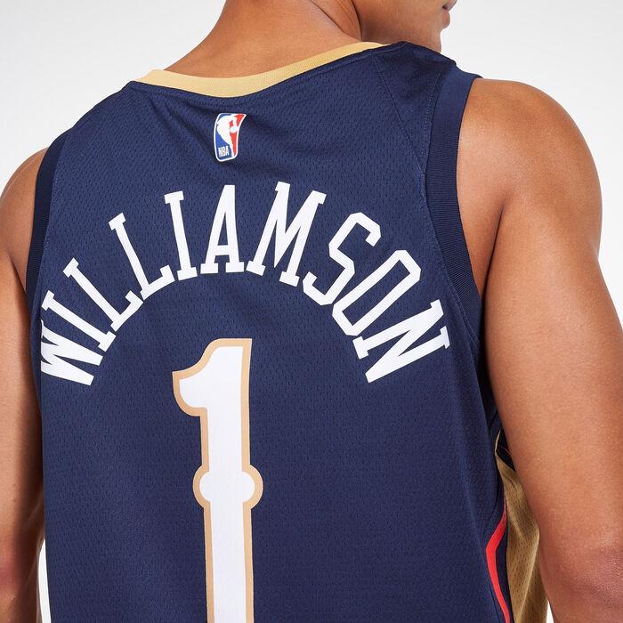YZY Jerseys Masculin de Basket-Ball Gilet sans Manches Respirant brod/é,A,S de la Nouvelle-Orl/éans P/élicans # 1 Sion Williamson Jerseys 165~170CM//50~65KG